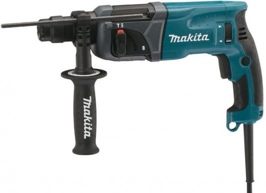 Перфоратор Makita HR2460 SDS Plus 780Вт + кейс перфоратор makita hr2800 sds plus
