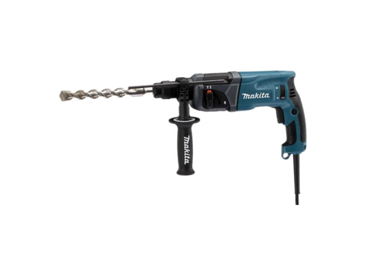Перфоратор Makita HR2460 SDS Plus 780Вт + кейс  перфоратор makita hr2470ft sds plus 780вт бзп