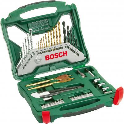Набор бит и сверел Bosch X-Line-50 TI набор бит и сверел bosch x line 50 ti