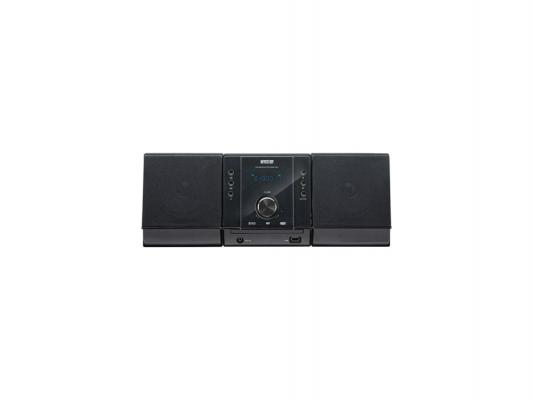 Микросистема Mystery MMK-702U 2x25Вт черный