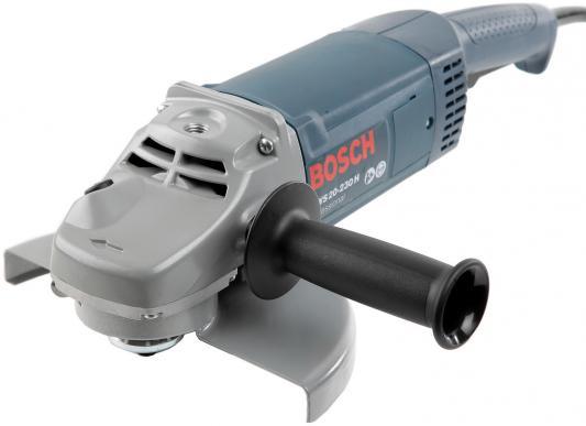 Углошлифовальная машина Bosch GWS 20-230H 230 мм 2000 Вт углошлифовальная машина bosch pws 2000 230 je