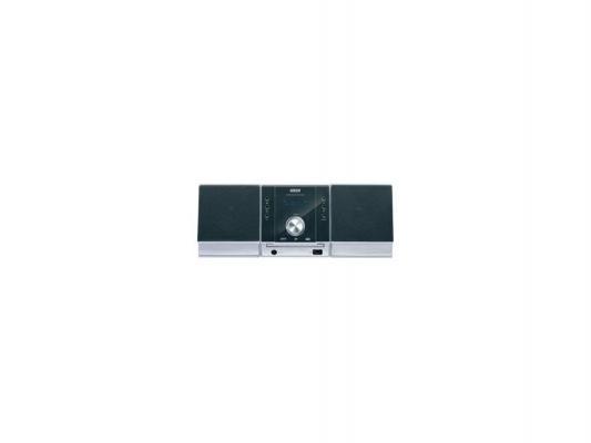 Микросистема Mystery MMK-702U 2x25Вт черный/серебристый