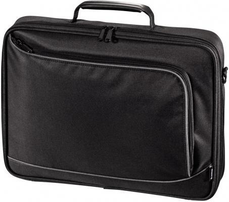 Сумка для ноутбука 15.6 HAMA Sportsline Bordeaux политекс серый черный сумка для ноутбука 17 3 hama sportsline bordeaux черно серый полиэстер 101094
