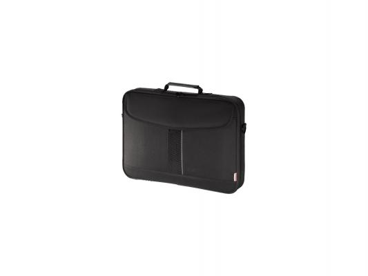 """Сумка для ноутбука 15.6"""" Hama Sportsline Bordeaux черно-серый полиэстер 101093"""