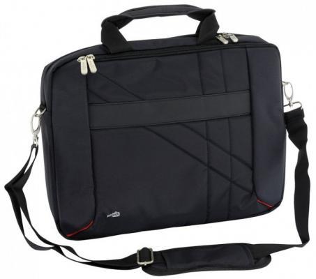 "Сумка для ноутбука 15.6"" PCPet PCP-W6715BK нейлон черный"