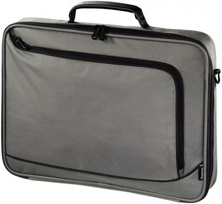 Сумка для ноутбука 15.6 Hama Sportsline Bordeaux серый полиэстер 101176