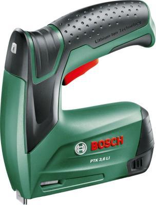Степлер Bosch PTK 3.6 LI степлер ручной bosch ht8 0 603 038 000