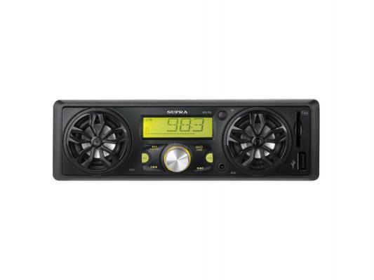 Автомагнитола Supra SFD-95U USB MP3 FM SD MMC 1DIN 4x40Вт черный