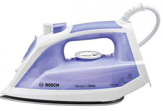 Утюг Bosch TDA1022000 2200Вт фиолетовый белый
