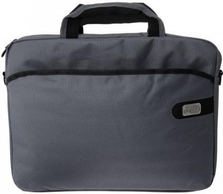 Сумка для ноутбука 15.6 PCPet PCP-A1215GY нейлон серый сумка для ноутбука 15 6 pc pet pcp sl9015n