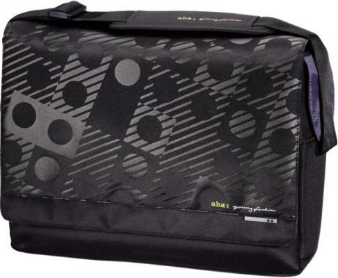 """Сумка для ноутбука 15.6"""" Aha Lenni полиэстер черный H-101498"""
