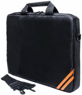 "Cумка для ноутбука 15.6"" PC Pet PCP-1004BK нейлон черный"