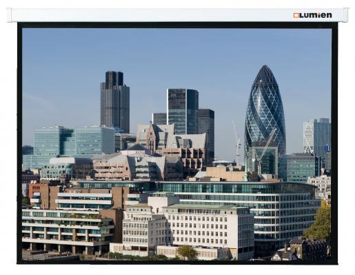 Экран настенный Lumien Master Control 229х305 см Matte White FiberGlass LMC-100110 с электроприводом lumien lmc 100110