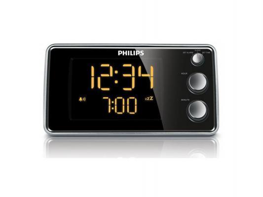 Купить Часы-будильники   Радиобудильник Philips AJ3551/12 серебристый