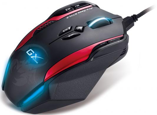 Мышь проводная Genius GX Gaming Gila чёрный USB 31010162101