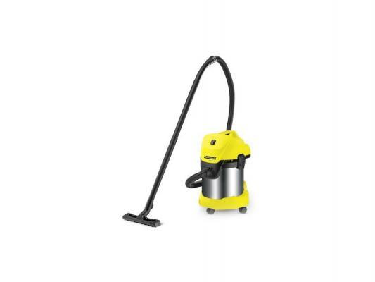 Пылесос Karcher WD 3 Premium с мешком сухая уборка 1400Вт желтый 1.629-840.0