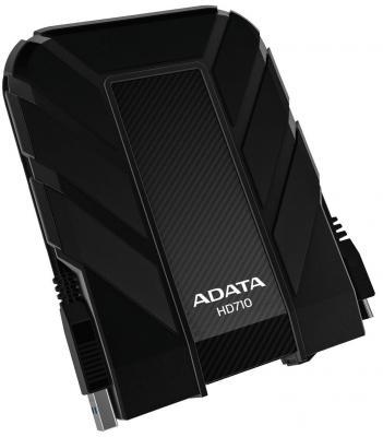 """Внешний жесткий диск 2.5"""" USB3.0 1Tb A-Data AHD710-1TU3-CBK черный"""