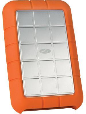 """Внешний жесткий диск 2.5"""" USB3.0 1Tb Lacie Rugged Triple 301984 оранжевый"""