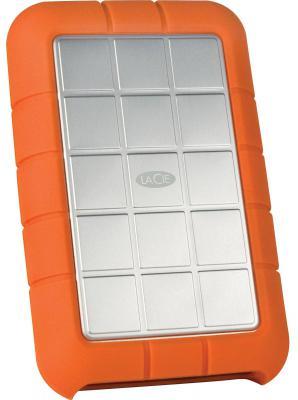 """Внешний жесткий диск 2.5"""" USB3.0 500Gb Lacie Rugged Triple 301983 оранжевый"""