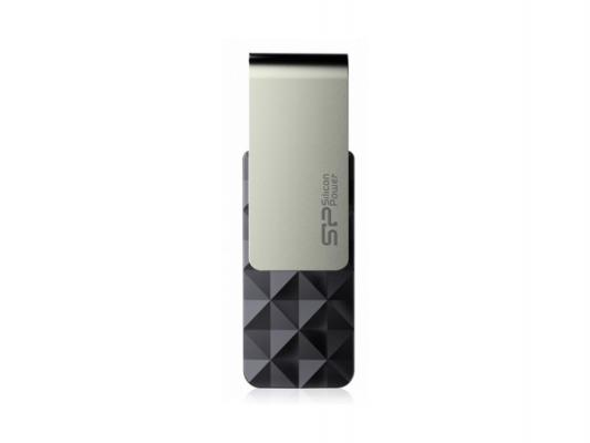 Флешка USB 16Gb Silicon Power Blaze B30 SP016GBUF3B30V1K черный цена и фото