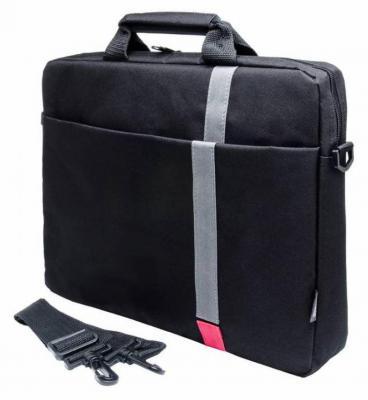 """Cумка для ноутбука 15.6"""" PC Pet PCP-1001RD полиэстер черный"""