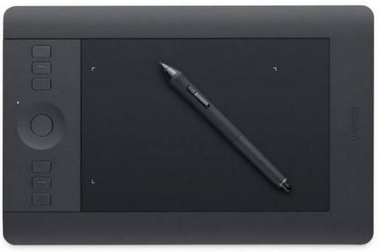 Графический планшет Wacom Intuos Pro PTH-451-RUPL USB черный графический планшет wacom intuos pro pth 860 r painter2018 bluetooth usb черный