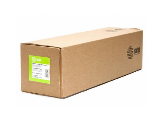 Бумага инженерная Cactus CS-LFP80-620175 А1+ 620мм х 175м 80г/м2 втулка 76.2мм