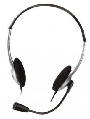 Гарнитура Creative HS-320 серебристо-черный 51EF0520AA001 hama hs 320