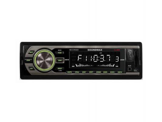 Автомагнитола Soundmax SM-CCR3035 FM 1DIN 4x35Вт черный