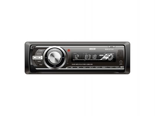 Автомагнитола Mystery MAR-877UC бездисковая USB MP3 FM SD MMC 1DIN 4x50Вт пульт ДУ черный