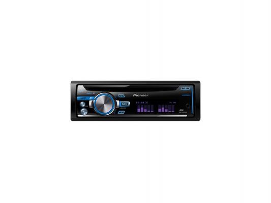 Автомагнитола Pioneer DEH-X7650SD USB MP3 CD FM RDS SD MMC SDHC 1DIN 4x50Вт пульт ДУ черный