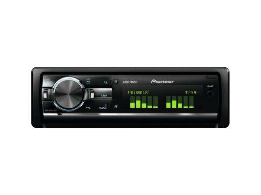 Автомагнитола Pioneer DEH-X9600BT USB MP3 CD FM RDS SD MMC SDHC 1DIN 4x50Вт пульт ДУ черный