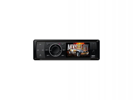 "Автомагнитола Mystery MMD-3011C 3"" 320х240 USB MP3 CD DVD FM RDS SD MMC 1DIN 4x50Вт пульт ДУ черный"