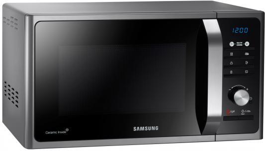 Микроволновая печь Samsung MS23F302TAS серый/черный шторы реалтекс классические шторы alexandria цвет венге молочный венге