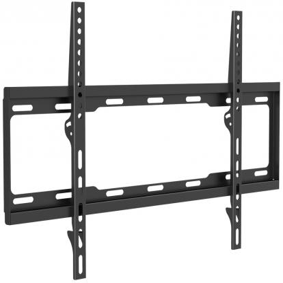 Кронштейн ARM Media STEEL-1 black, для LED/LCD/PLASMA TV 26-70, max 40 кг, 0 ст свободы, от стены 25 мм , VESA 600x400 мм