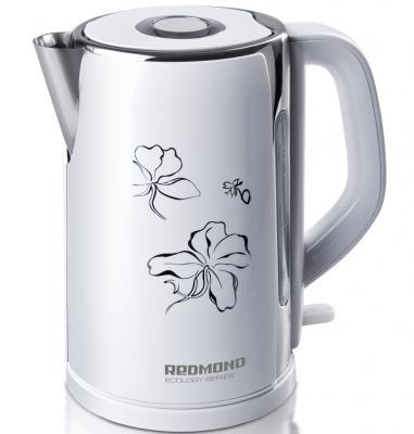 Чайник Redmond RK-M131 2400 Вт белый 1.7 л металл redmond ri s220