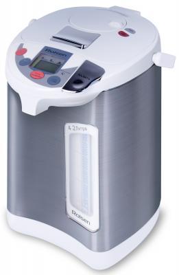 Чайник-термос Rolsen RLT-4038 680Вт 4.2л металл серебристый/белый
