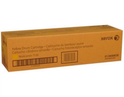 Фотобарабан Xerox 013R00658 для WC 7120 желтый 51000стр картридж xerox 006r01462 для xerox wc 7120 желтый
