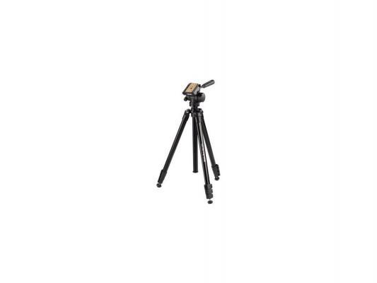 Штатив Hama Delta Pro 180 H-4405 напольный трипод 3D-головка до 180см нагрузка до 5кг черный hama deltapro3d180 4405