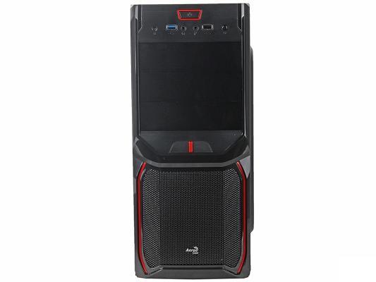 Корпус ATX Aerocool V3X Advance Devil Red Edition 600 Вт красный чёрный EN57592