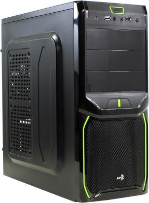 ������ ATX Aerocool V3X Advance Evil Green Edition 600 �� ������ ������ 4713105954302
