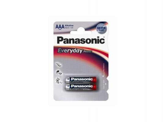 Батарейки Panasonic Everyday Power Silver AAA 2 шт