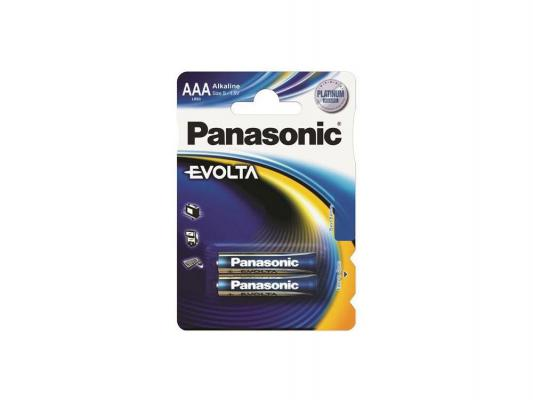 Батарейки Panasonic Evolta AAA 2 шт LR03EGE/2BP