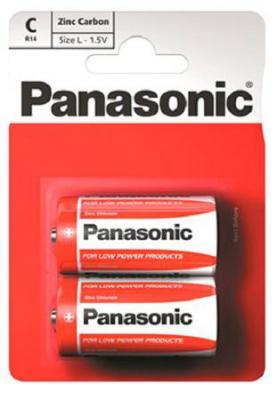 Батарейки Panasonic Zink Carbon R14RZ/2B 2 шт