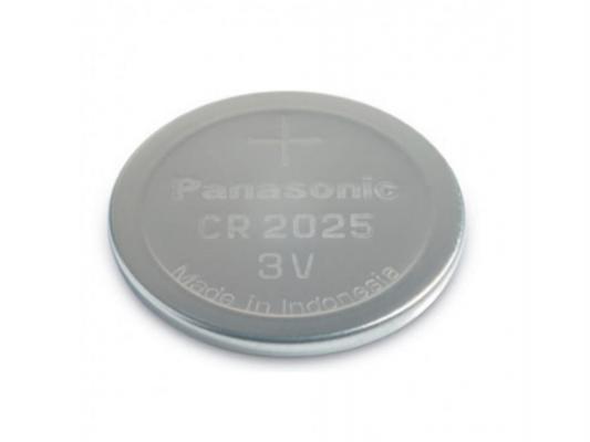 Батарейка Panasonic Lithium Power 90 mAh CR2025 1 шт батарейка эра cr2025 1bl cr2025 1 шт