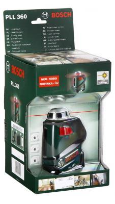 Лазерный нивелир Bosch PLL 360 лазерный нивелир bosch pll 2 [0603663420]