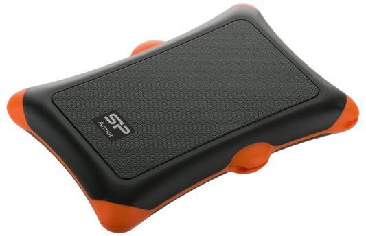 """Внешний жесткий диск 2.5"""" USB3.0 1Tb Silicon Power A30 SP010TBPHDA30S3K черный внешний жесткий диск silicon power armor a30 sp020tbphda30s3k 2тб черный"""