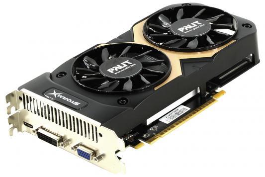Видеокарта 2048Mb Palit GeForce GTX750TI STORMX DUAL PCI-E 128bit DDR5 DVI mHDMI VGA NE5X75TT1341-1073F Retail