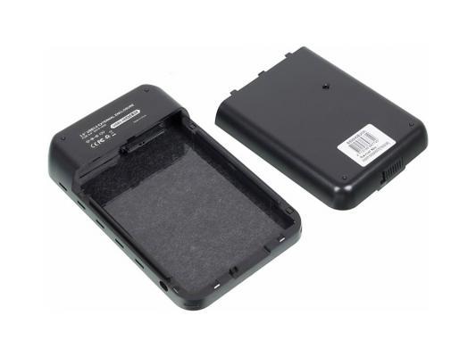 """Внешний контейнер для HDD 3.5"""" SATA AgeStar 3UB3A8-6G USB3.0 черный"""