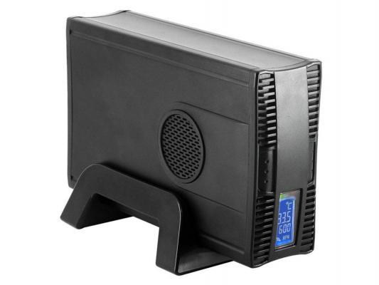 "Внешний контейнер для HDD 3.5"" SATA AgeStar GNSB3AHT Ethernet USB3.0 черный"